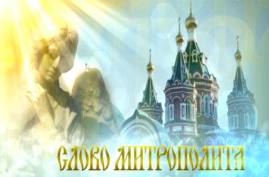 Слово митрополита от 29 декабря 2019 г.