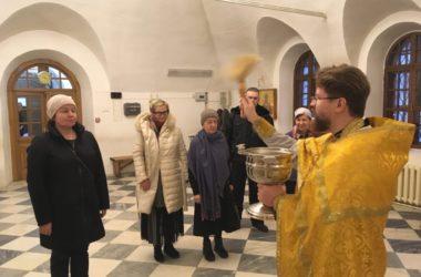 В храме Иоанна Предтечи почтили память митрополита Серафима (Чичагова)