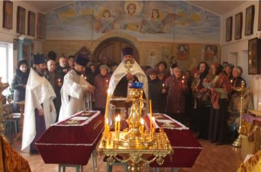 В селе Костарёво перезахоронили останки диакона и псаломщика, которые служили в местном храме более ста лет назад