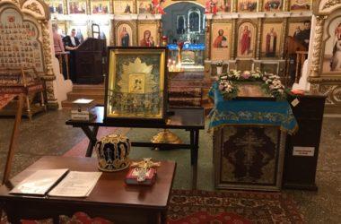 Верующие Котовского благочиния первыми встретили икону «Избавительница от бед»