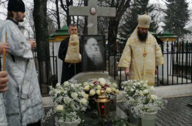Митрополит Феодор почтил память своего духовного отца архиепископа Михея