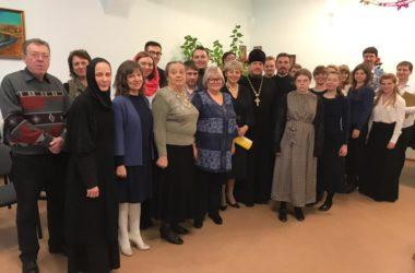 Студенты Царицынского православного колледжа провели предрождественский концерт