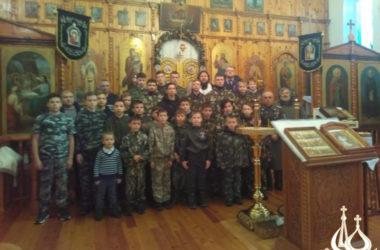В Волго-Ахтубинском благочинии почтили память убиенных казаков