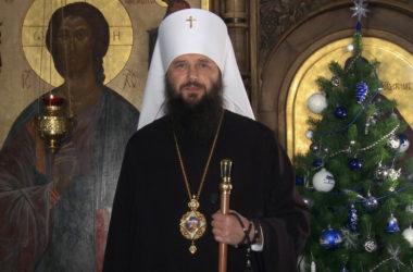 Поздравление с Рождеством Христовым митрополита  Феодора