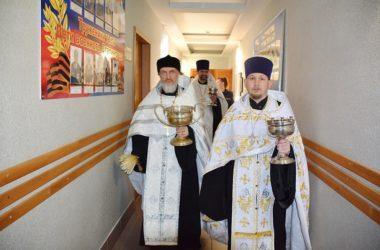 Священники Волгоградской митрополии совершили обряд освящения в Управлении федеральной службы исполнения наказаний
