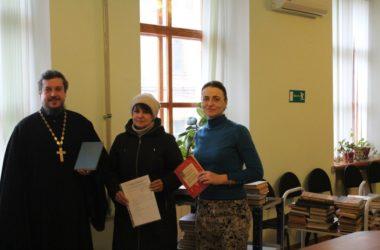 Царицынский православный университет передал книги в библиотеку ВолГУ