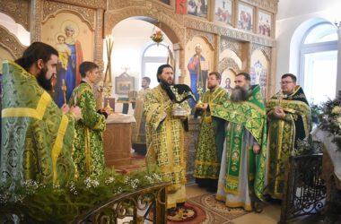 Митрополит Феодор совершил Божественную литургию в память Серафима Саровского