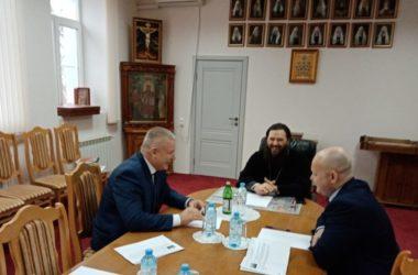 Владыка Феодор провел рабочую встречу с руководством Управления Министерства юстиции по Волгоградской области