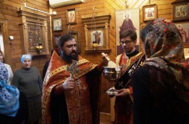 В часовне Иверской иконы Божией Матери состоялся молебен  святой мученице Татиане