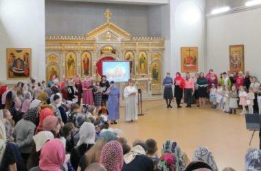В храме Рождества Пресвятой Богородицы прошел семейный хоровой собор