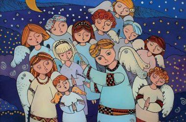 Юные прихожане храмов Волгоградской епархии готовы поздравить всех с Рождеством Христовым