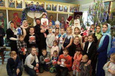 Семейный Рождественский праздник прошел в Красноармейском благочинии