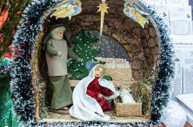 Как священники и прихожане Никольского кафедрального собора встречали и отмечали Рождество Христово