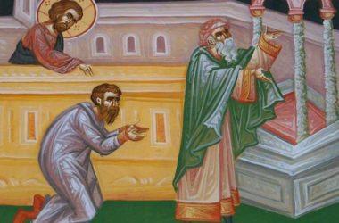 Безумные глаголы. Беседа в Неделю о мытаре и фарисее