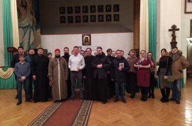 В Свято-Духовском монастыре прошла зимняя молодежная интеллектуальная игра