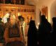 В храме Иоанна Предтече состоялась ночная Божественная литургия
