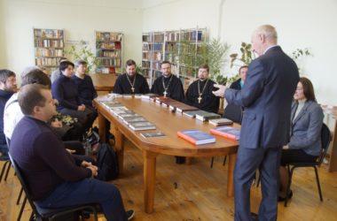 В Царицынском православном университете прошла встреча с автором книг о истории нашего края