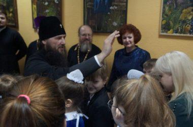 Митрополит Феодор отпраздновал масленицу вместе с воспитанниками школы «Воскресение»
