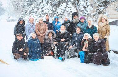 В доме престарелых и инвалидов прославляли блаженную Ксению Петербургскую