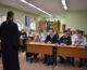 В Ворошиловском благочинии прошла первая встреча со студентами-железнодорожниками