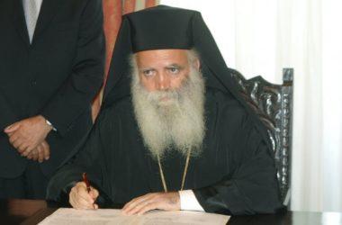 Митрополита Кифирского Серафима арестовали за совершение богослужения