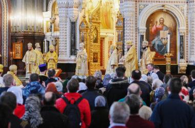 Слово Святейшего Патриарха Кирилла в Неделю Торжества Православия после Литургии в Храме Христа Спасителя