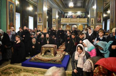 Прощеное воскресенье в Казанском кафедральном соборе. Фоторепортаж