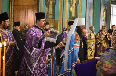 Видео, проповедь: Неделя Торжества Православия в Казанском кафедральном соборе Волгограда