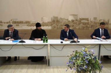 Митрополит Феодор на встрече с губернатором Андреем Бочаровым поддержал его инициативы