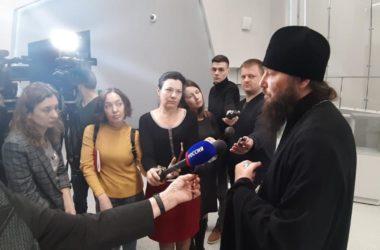 Митрополит Волгоградский и Камышинский Феодор ответил на вопрос волгоградских журналистов о крестном ходе