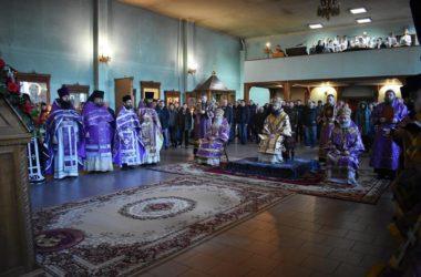 В Троицком храме Свято-Духовского монастыря отметили день памяти Николая Попова