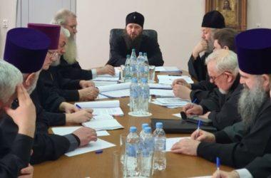 В Волгоградской митрополии состоялось расширенное заседание архиерейского совета
