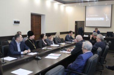 В Волгограде состоялось заседании Совета ректоров вузов Волгоградской области