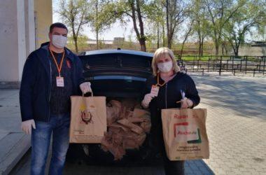 Волонтеры Красноармейского благочиния участвуют во всероссийской акции #МыВместе