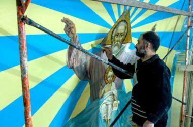 Люди Никольского кафедрального собора: реставратор Эдик Галстян