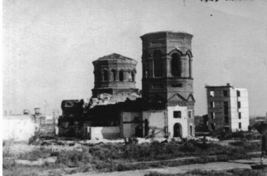 Казанский собор – огненные годы