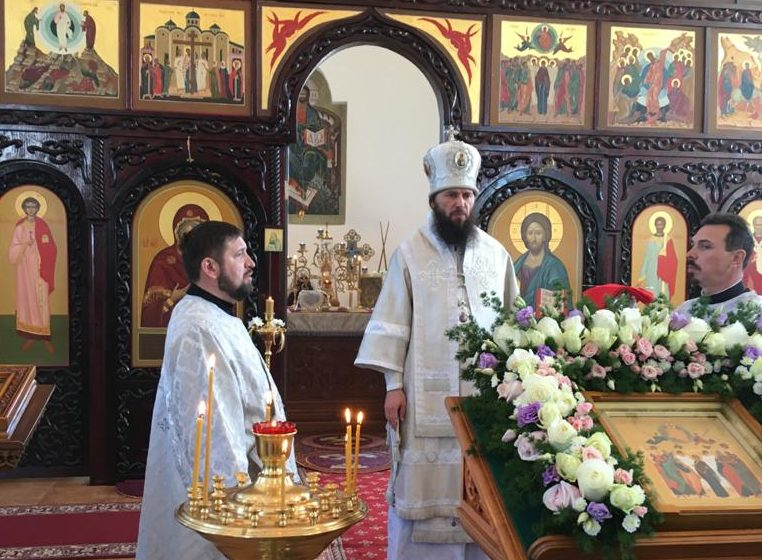 Проповедь митрополита Федора: «Аз есмь с вами, и никтоже на вы»