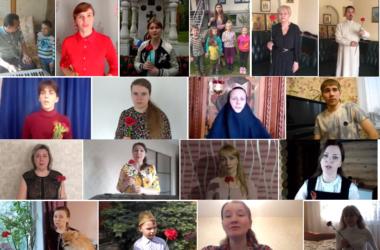 Царицынский православный колледж поздравляет всех с Днем Победы!