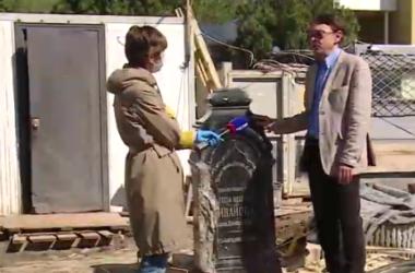 На волгоградском телеканале вышел видеосюжет об уникальной находке рядом с собором Александра Невского