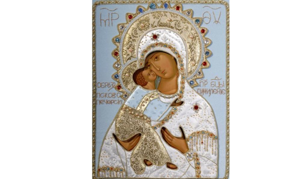 Икона Богородицы «Умиление» Псково-Печерская