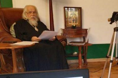 Волгоградский священник Евгений Катаев участвует в онлайн конференции Синодального отдела