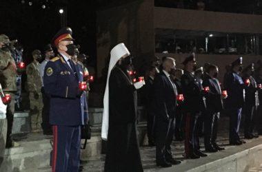 Митрополит Феодор принял участие в акции «Завтра была война»