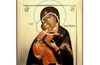 История иконы Богородицы Владимирская