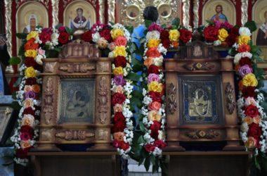 В Урюпинске молитвенно отметили день явления Урюпинской иконы Божией Матери