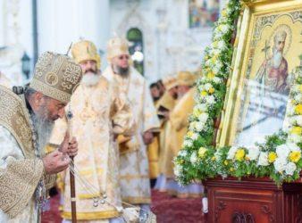 Предстоятель Украинской Православной Церкви возглавил торжественные богослужения по случаю праздника Крещения Руси в Киево-Печерской лавре