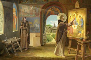 Ветхозаветная Троица была символом единения. Вникая в тайны знаменитой иконы Андрея Рублева