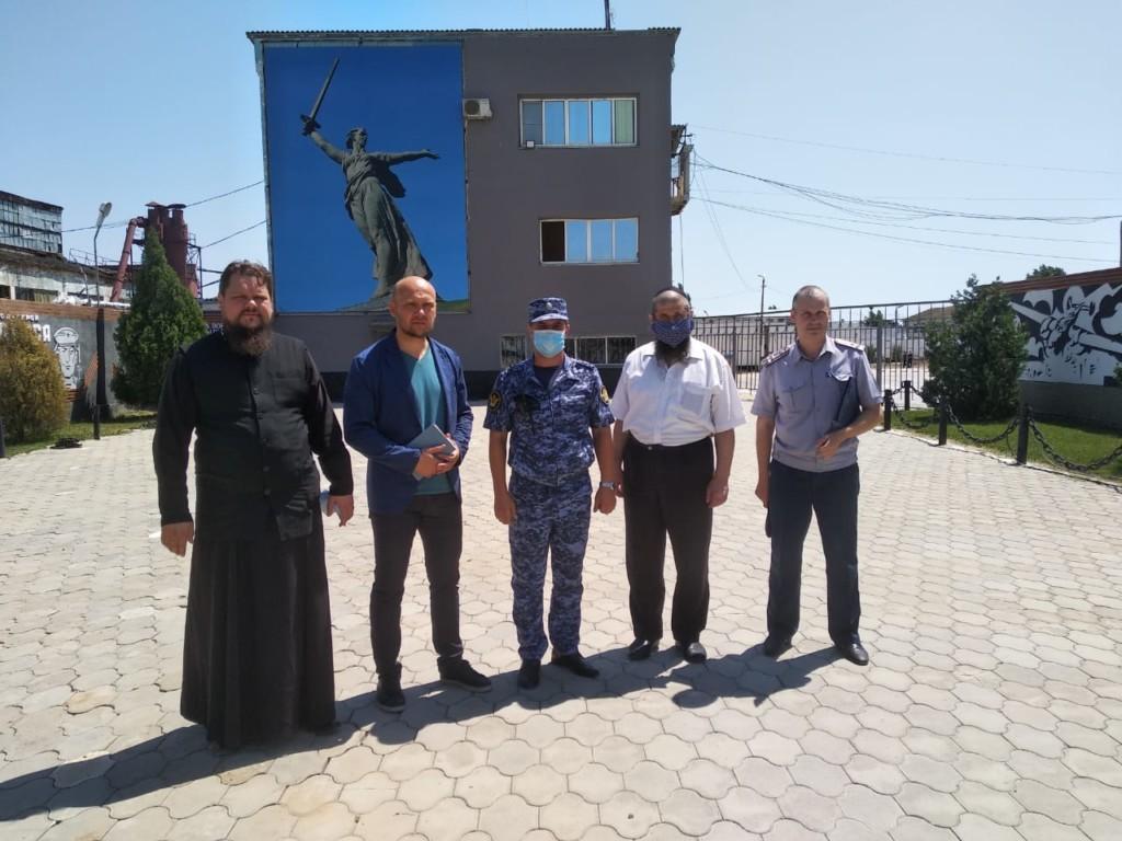 Руководитель отдела по тюремному служению побывал в исправительном учреждении ИК-12