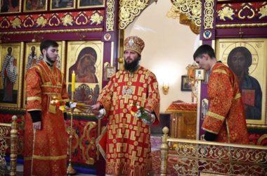 В храме святого Пророка Иоанна Предтечи состоялась архиерейская служба