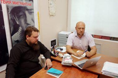 Иерей Андрей Горячев: Вернуться к прежнему режиму работы с учетом нынешних условий