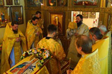 Митрополит Феодор возглавил Божественную литургию в храме княгини Ольги